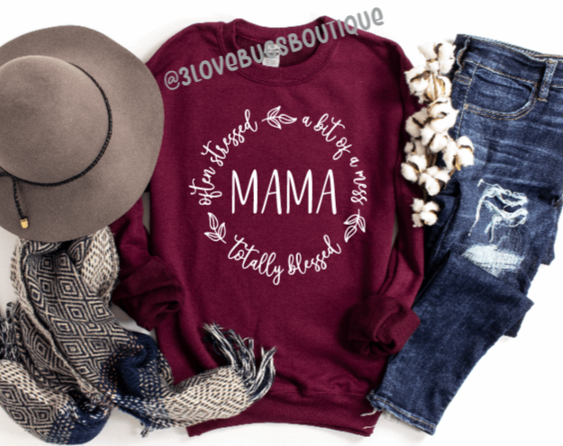 Blessed Mama Sweatshirt