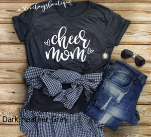 Cheer Mom Shirt - 3lovebugsboutique