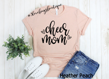 Load image into Gallery viewer, Cheer Mom Shirt - 3lovebugsboutique