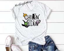 Load image into Gallery viewer, Chillin like a villain - 3lovebugsboutique