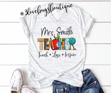 Load image into Gallery viewer, Teach Love Inspire Shirt
