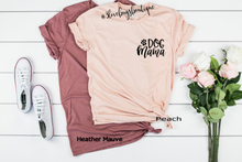 Load image into Gallery viewer, Dog Mama Pocket Tee - 3lovebugsboutique