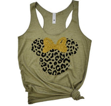 Load image into Gallery viewer, Minnie cheetah tank - 3lovebugsboutique