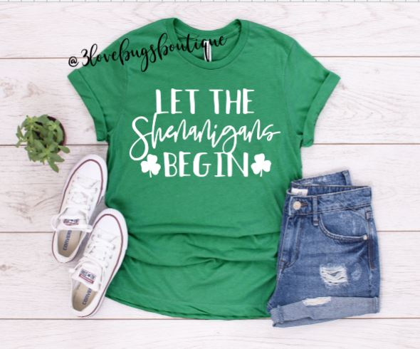 Let the Shenanigans begin Shirt - 3lovebugsboutique