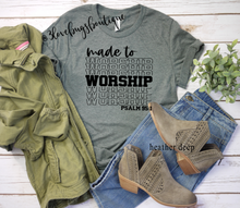 Load image into Gallery viewer, Made to Worship - 3lovebugsboutique