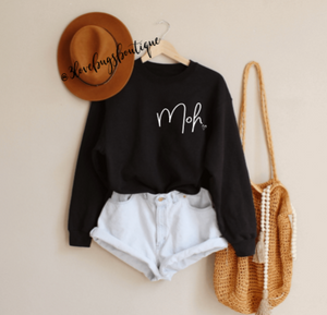Maid of Honor(MOH) Sweatshirt