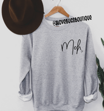 Load image into Gallery viewer, Maid of Honor(MOH) Sweatshirt