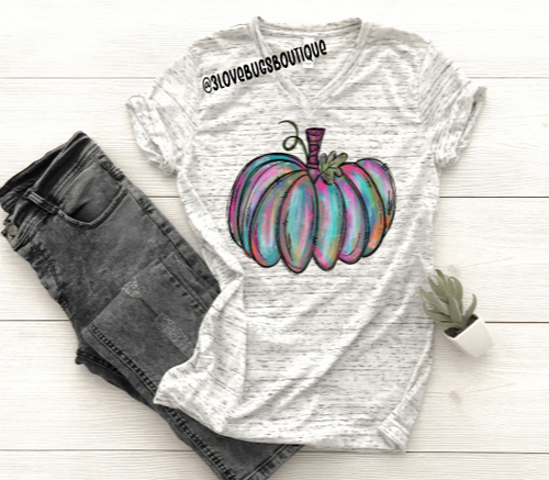 Painted Pumpkin shirt