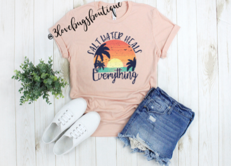 Salt water heals everything Shirt