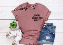 Load image into Gallery viewer, Social Distancing Expert - 3lovebugsboutique