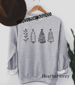 Christmas Trees Sweatshirt