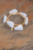 White Jade Stone Bangle