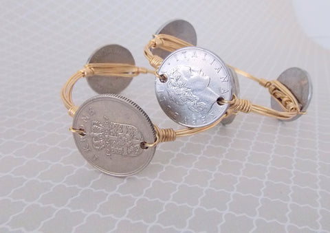 Foreign Coin Bangle