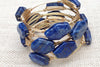 Natural Lapis Stone Bangle