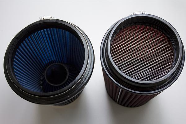 Steeda filter vs competitor screened filter