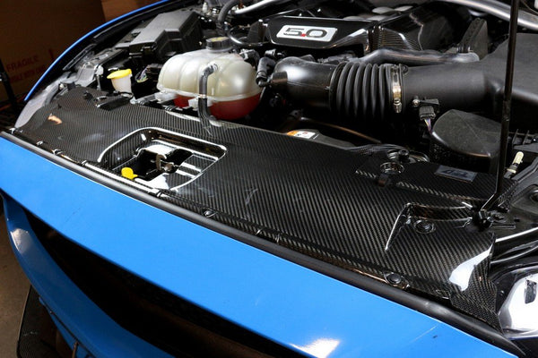 APR Performance S550 Mustang Carbon Radiator Cover