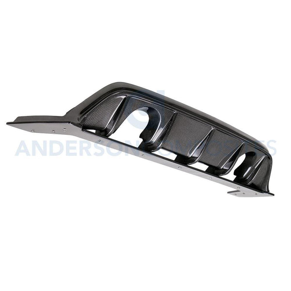 Anderson Composites Carbon Fiber Rear Diffuser for 2016-18 Ford Focus RS