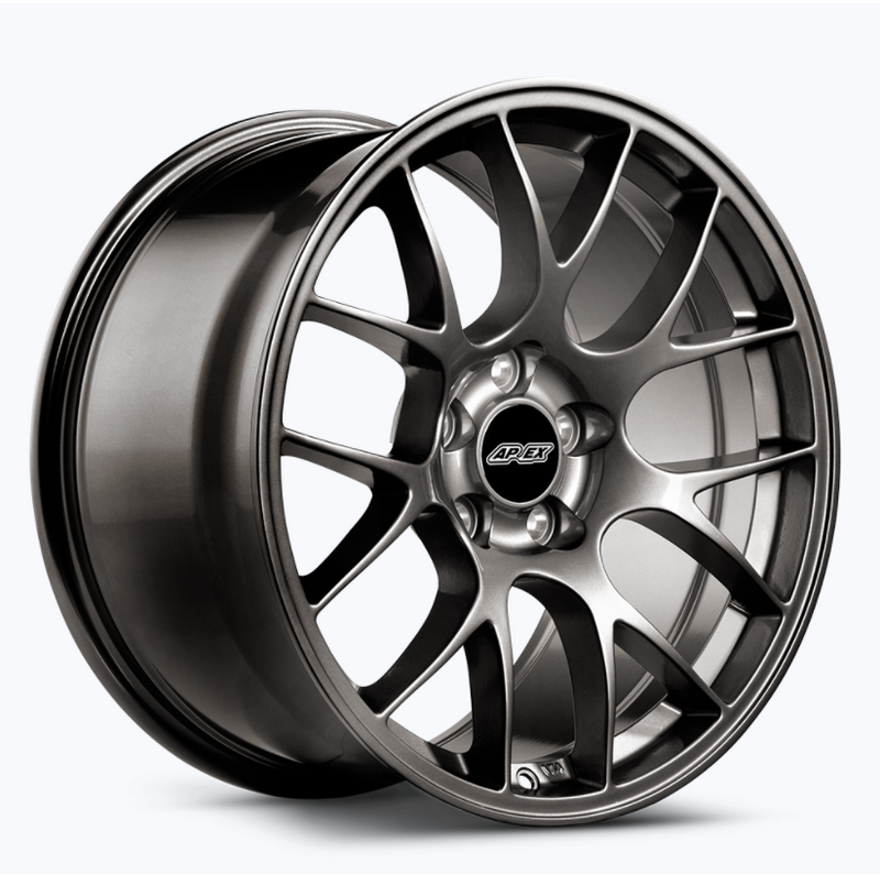 Apex EC-7 lightweight high performance wheels for Mustang S197 and S550 EU cars in 18 and 19 inch