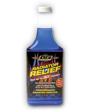 DEI Rad Relief is a must have additive for lower coolant temps for any track day Fast Ford driver
