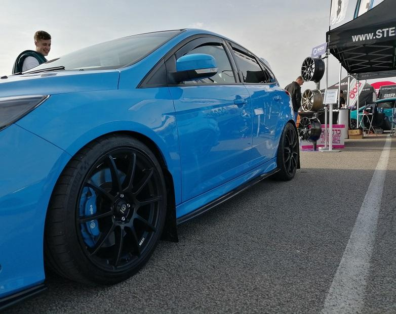 Sparco Assetto Gara on a Focus RS