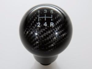 Ford Fiesta Shift Knob - Carbon Fiber 5-Speed