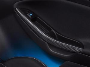 Ford Focus Door Spear Kit - Carbon Fiber