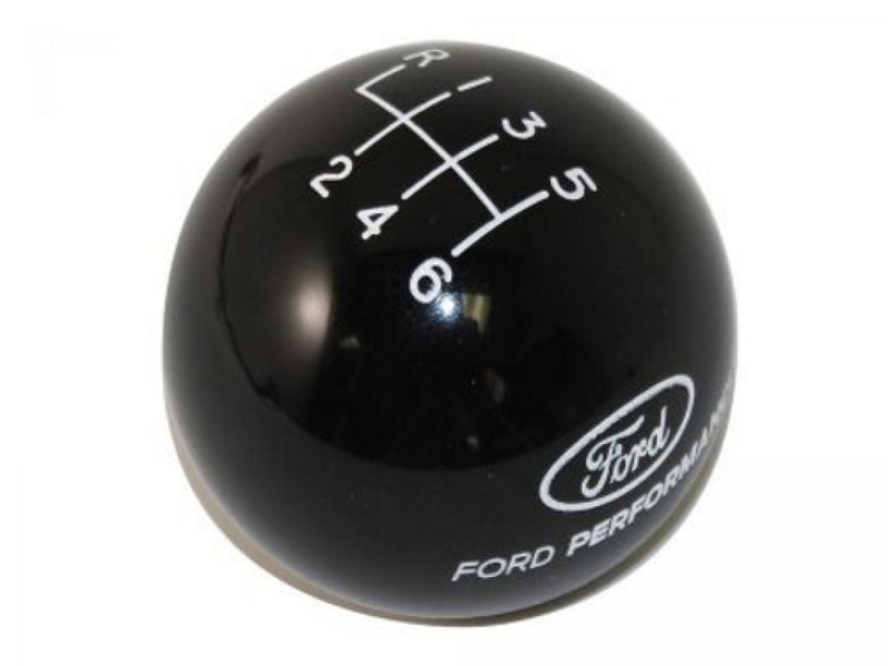 Black Ford Performance Cue Ball Shift Knob