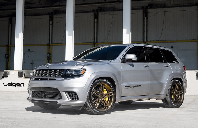"Velgen Split 5 22"" wheels in bronze on Jeep Grand Cherokee"