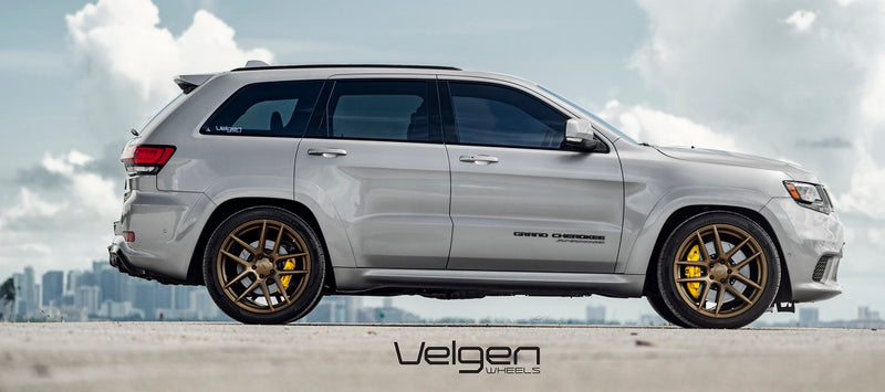 "Velgen VMB5 alloy wheels in bronze 22"" for Jeep Grand Cherokee"