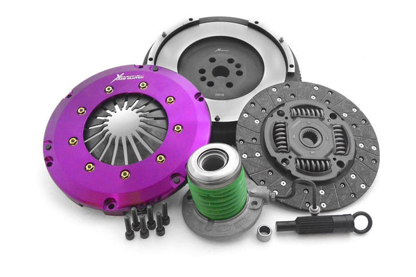 Extreme Clutch Ecoboost Mustang HD Organic Clutch Kit (inc flywheel & CSC)