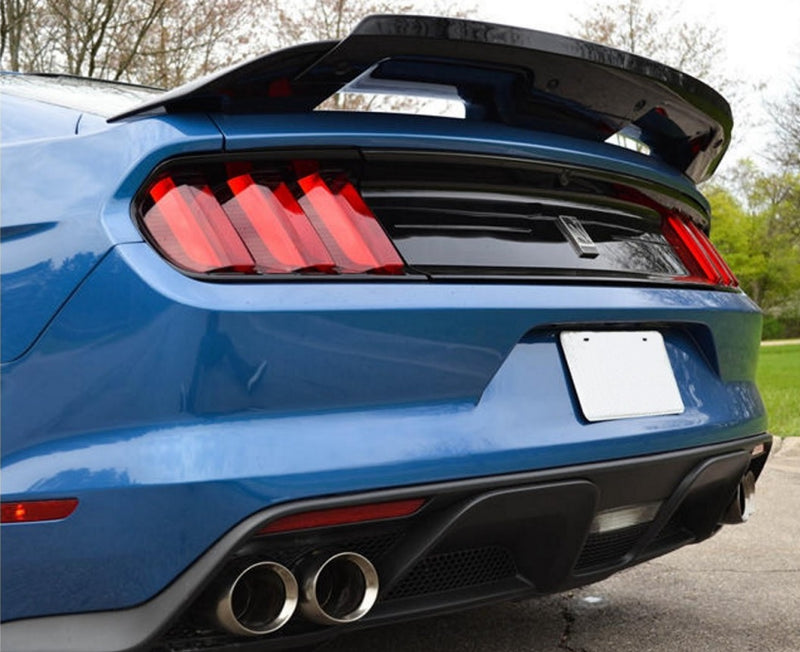 Ford Performance Mustang GT500/Mach 1 Style Rear Spoiler w/ Gurney Flap (2015-2021)