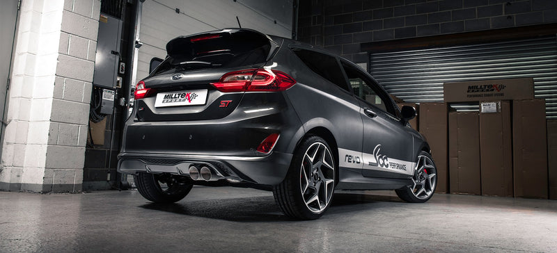 Installed Milltek Catback Exhaust For MK8 Fiesta ST 1.5