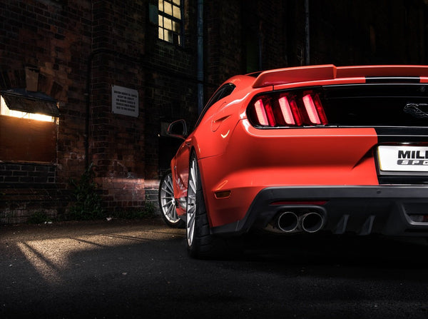 Milltek Catback for S550 Mustang GT Quad Tips