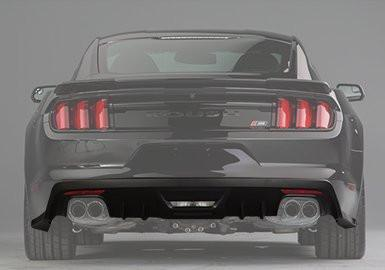 Roush Rear Valance for S550 -2015-2017- Quad tips