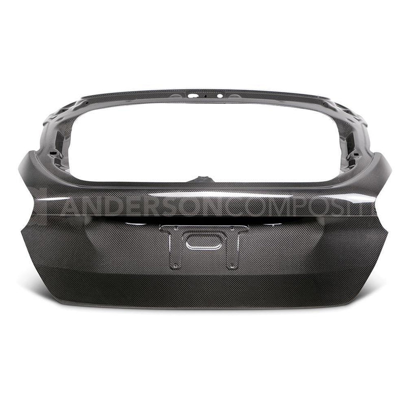 Anderson Composites Carbon Fibre OE Rear Hatch for 2015-18 Ford Focus