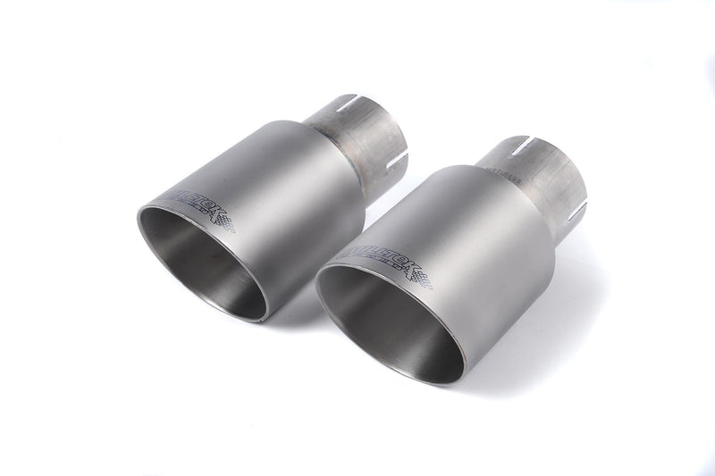 Milltek Catback Exhaust Titanium Tips for S550 Ecoboost Mustang