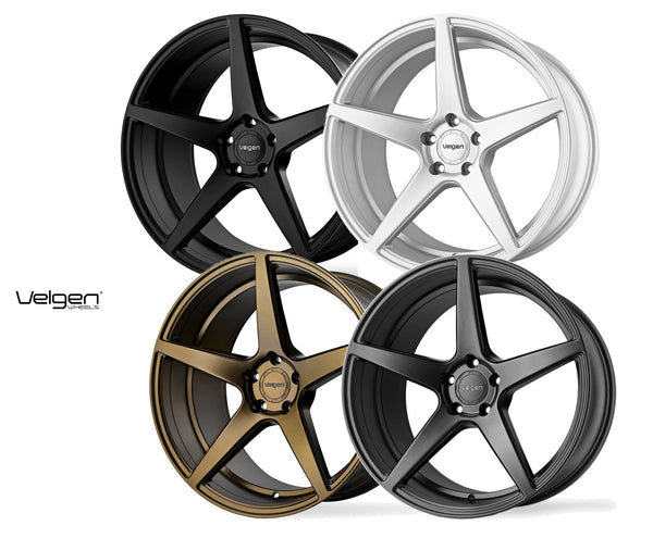 Velgen Wheels Classic 5 bronze, black, gunmetal and silver wheels for Jeep Grand Cherokee SUV