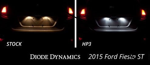 Diode Dynamics License Plate LEDs for Ford Fiesta mk7+ (pair)
