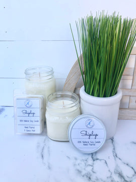 Shiplap Soy Candle