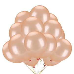 Balloon Bouquets - Rose Gold Balloons