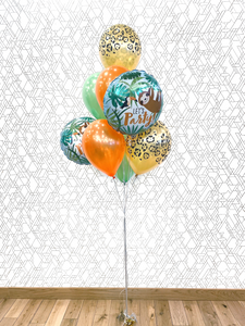 Jungle Safari Animals Theme Balloon Bouquet