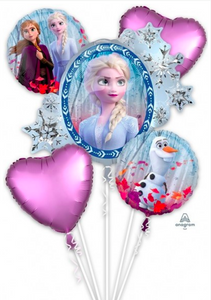 Disney Frozen Balloons (Extra Deluxe Bouquet) Kids Birthday Balloons