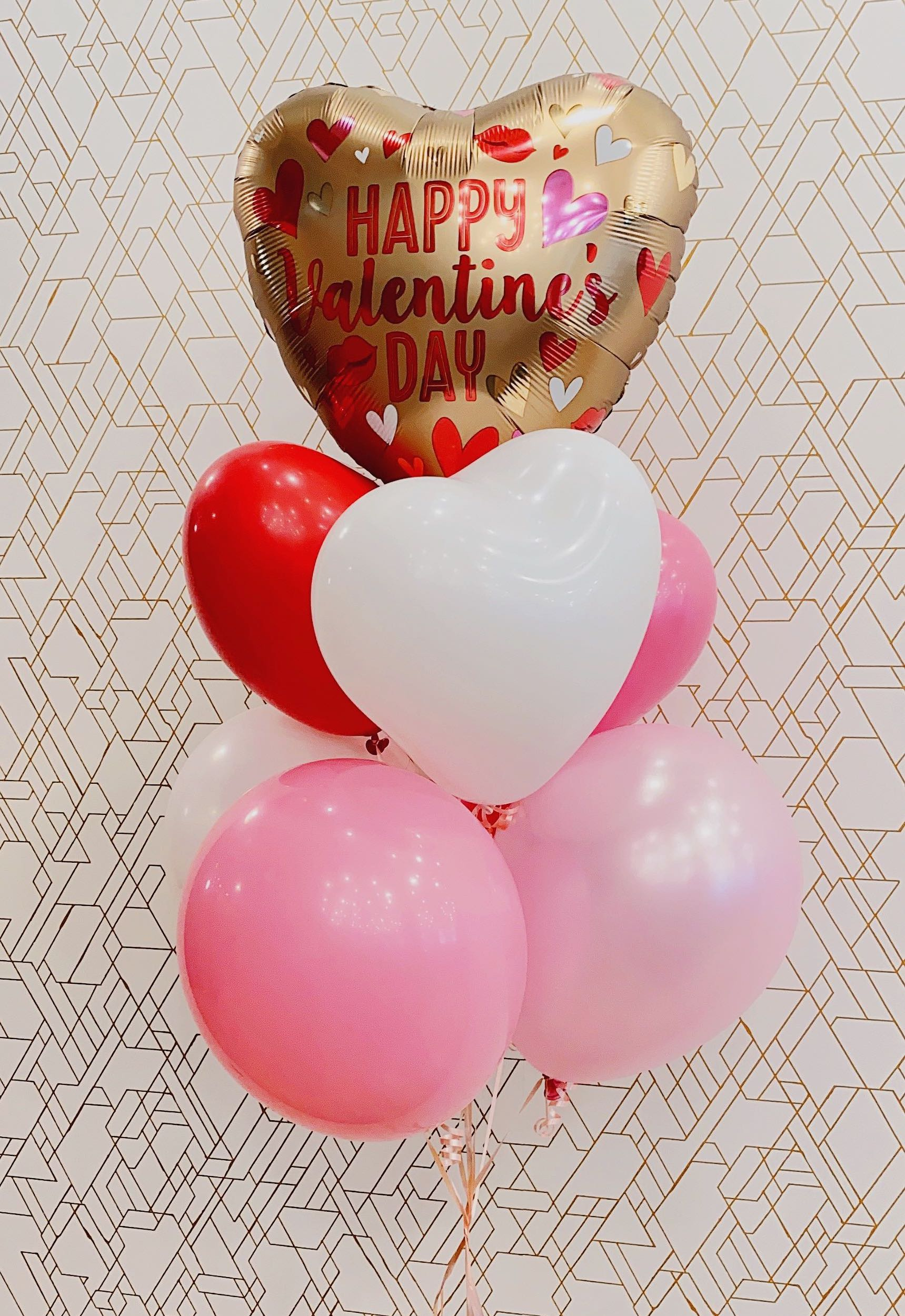 Be Mine ❤️Deluxe Valentines Day Balloon Bouquet