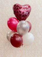 Load image into Gallery viewer, Merlot Hearts 💖Deluxe Valentines Day Balloon Bouquet