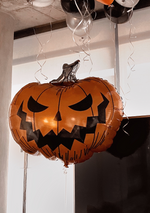 Load image into Gallery viewer, Scary Pumpkin Extra Large Balloon