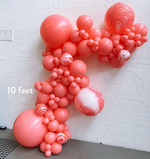 Load image into Gallery viewer, Balloon Garland / Organic Balloon Arch