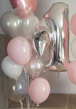 Load image into Gallery viewer, Extra Special Birthday Balloon Package (1 Number & Deluxe Balloon Bouquet)