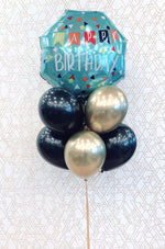 Load image into Gallery viewer, Happy Birthday! JUMBO Bouquet Foil Balloon Arrangement