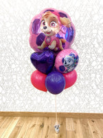 Load image into Gallery viewer, Paw Patrol Pink (Extra Deluxe Bouquet) Kids Birthday Balloons