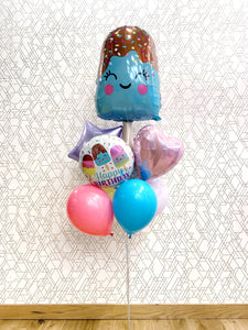 Summer Fun Popsicle Birthday (Extra Deluxe Bouquet) Kids Birthday Balloons